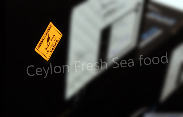 Ceylon fresh sea food